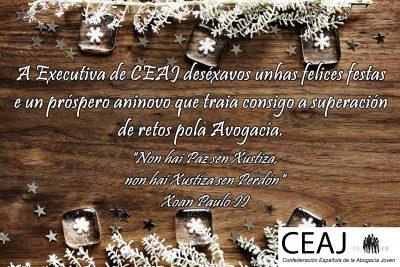 Felicitación ceaj Gallego